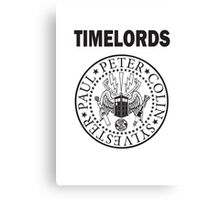 Time Lords 2 Canvas Print