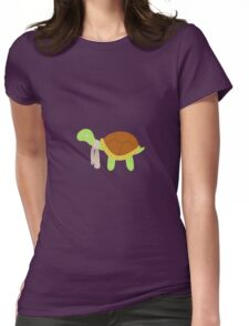 Cute baby turtle Womens Fitted T-Shirt