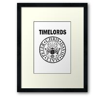 Time Lords 3 Framed Print