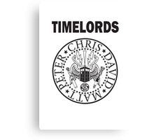 Time Lords 3 Canvas Print