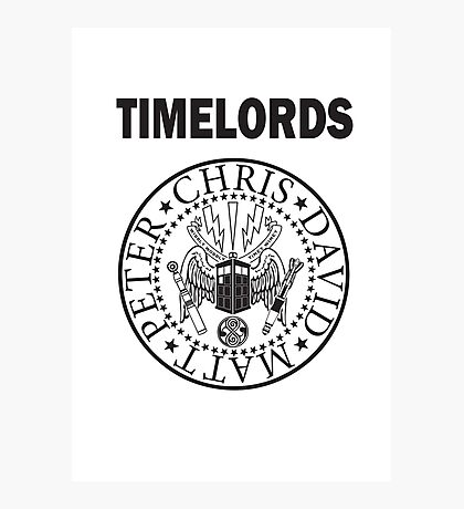 Time Lords 3 Photographic Print