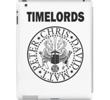 Time Lords 3 iPad Case/Skin