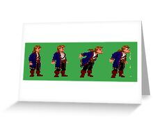 Monkey Island Spit Contest Greeting Card