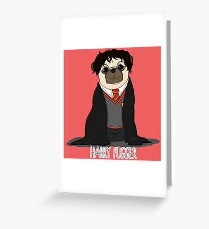 Harry Pugger Greeting Card