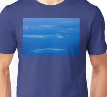 North Ari Atolls in Maldives - aerial view over Eden on Earth Unisex T-Shirt