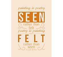 Poetry Photographic Print