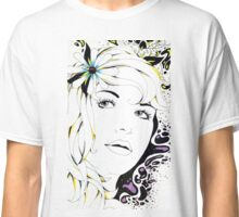Girl In Graphic Classic T-Shirt