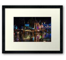 Cardiff at Christmas Framed Print