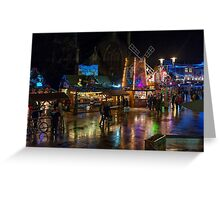 Cardiff at Christmas Greeting Card