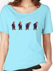Monkey Island Spit Contest Women's Relaxed Fit T-Shirt