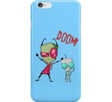 Invader Zim & Gir Doom! iPhone Case/Skin