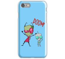Invader Zim & Gir Doom! iPhone Case/Skin