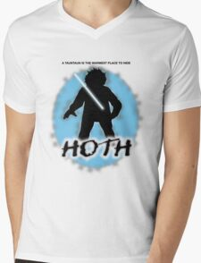 Hoth Mens V-Neck T-Shirt