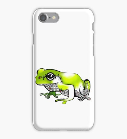 Froggy went a' courting! iPhone Case/Skin