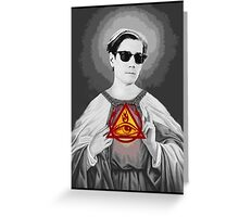 Holy Doc Hammer Greeting Card