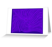 Into the Vortex COLORIZED Greeting Card
