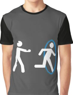 In Case of Zombies Use Portals Graphic T-Shirt