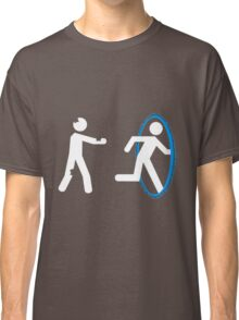 In Case of Zombies Use Portals Classic T-Shirt