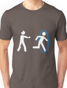 In Case of Zombies Use Portals Unisex T-Shirt