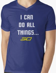 Steph Curry Do All Things Mens V-Neck T-Shirt