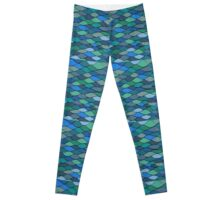 Waves and Scales Leggings