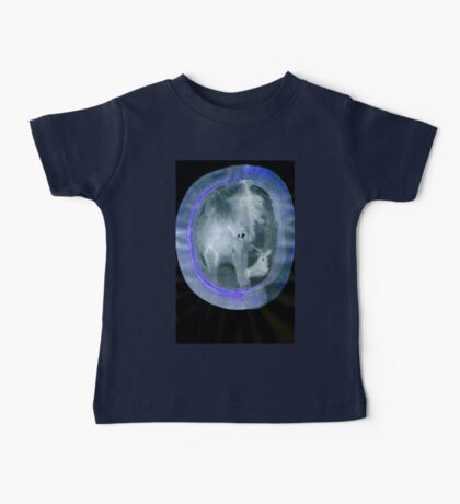 0034 - Brush and Ink - Circular Compression Baby Tee