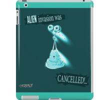 cartoon style jelly alien  iPad Case/Skin