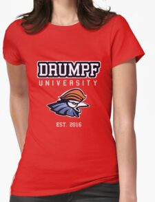 Drumpf University Womens Fitted T-Shirt
