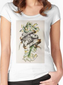 Photog - Capture Life Women's Fitted Scoop T-Shirt