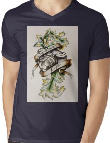 Photog - Capture Life Mens V-Neck T-Shirt