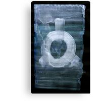0041 - Brush and Ink - In Threes Canvas Print