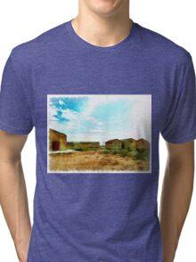 Island Caprera: military archeology Tri-blend T-Shirt