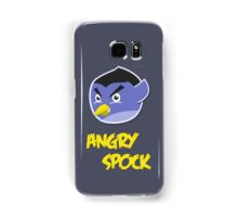 Angry Spock Samsung Galaxy Case/Skin