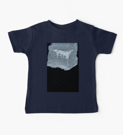 0042 - Brush and Ink - No Island is Human Baby Tee