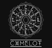 Camelot Wheel / Circle of Fifths Unisex T-Shirt