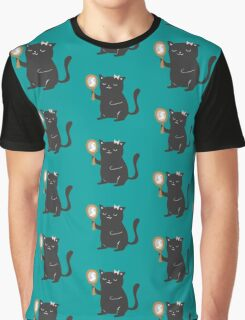 Catty Thoughts! Graphic T-Shirt