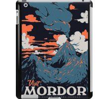visit mordor t shirt iPad Case/Skin