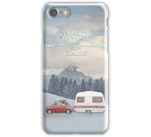 LET`S GO WINTER CAMPING by Monika Strigel iPhone Case/Skin