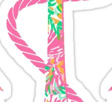 Delta Gamma Anchor Sticker