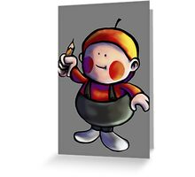 Apple Kid - Earthbound Greeting Card