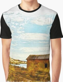 Island Caprera: military archeology Graphic T-Shirt