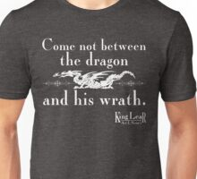 Dragon Wrath - White Unisex T-Shirt