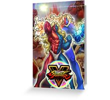 Gill - Street Fighter Case Greeting Card
