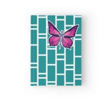 Ocean Butterflies Part 1 - Teal Hardcover Journal