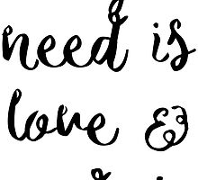 All you need is love & a dog by caddystar