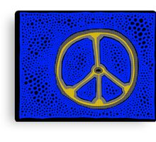 Everlasting Peace COLORIZED HALF-TONE Canvas Print