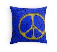 Everlasting Peace COLORIZED HALF-TONE Throw Pillow