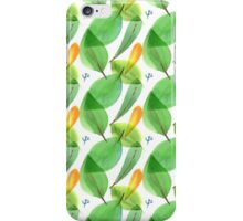 Floral watercolor #6 iPhone Case/Skin