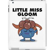 Little Miss Gloom iPad Case/Skin