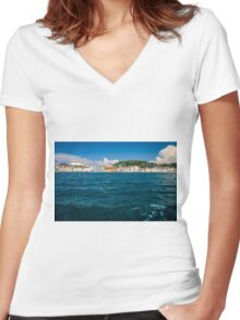 Piran Women's Fitted V-Neck T-Shirt